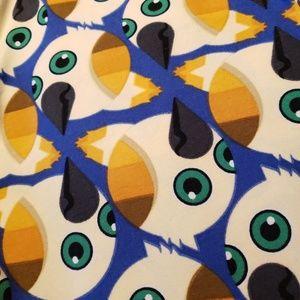 Lularoe TC Leggings Birds Pattern